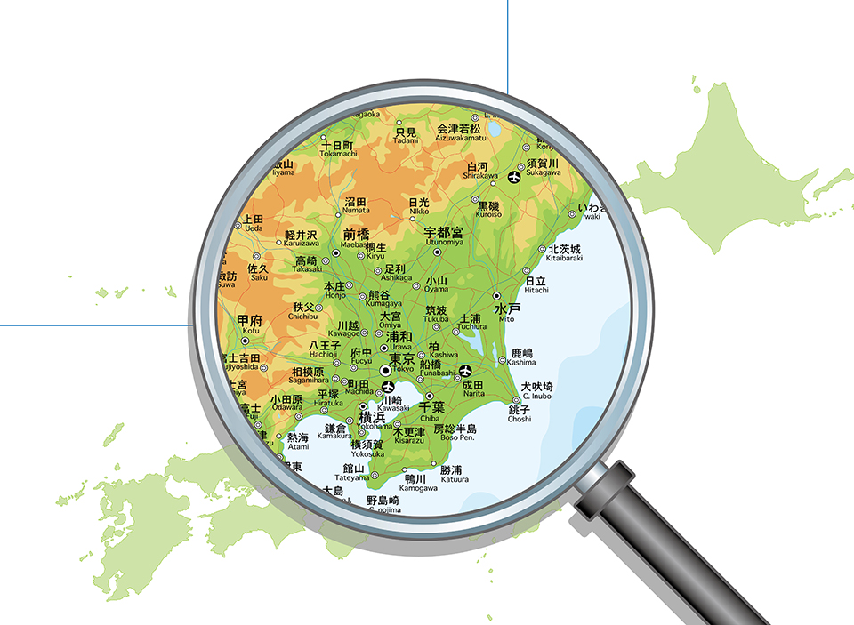 対応エリア、東京都、埼玉県、千葉県、神奈川県